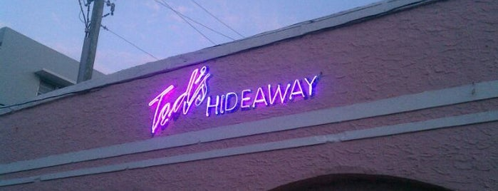 Ted's Hideaway is one of Ultimate South Beach List.