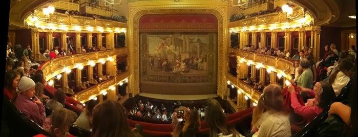 Teatro Nazionale is one of StorefrontSticker #4sqCities: Prague.