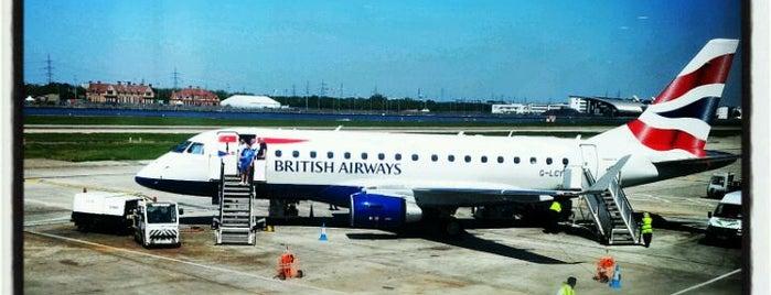 ท่าอากาศยานลอนดอนซิตี (LCY) is one of AIRPORT.