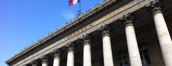 Palais Brongniart (Ancienne Bourse de Paris) is one of Orte, die Ben gefallen.