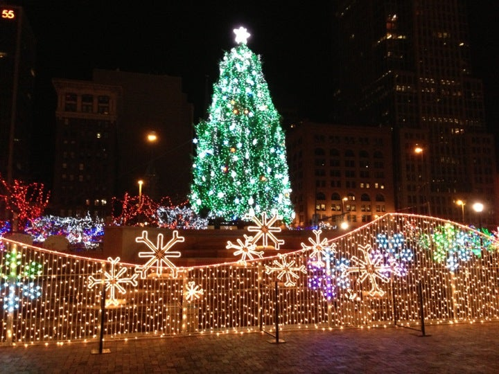 Is First Energy Stadium Not Having Christmas Lights 2021 Hilton Cleveland Downtown Near First Energy Stadium Maps