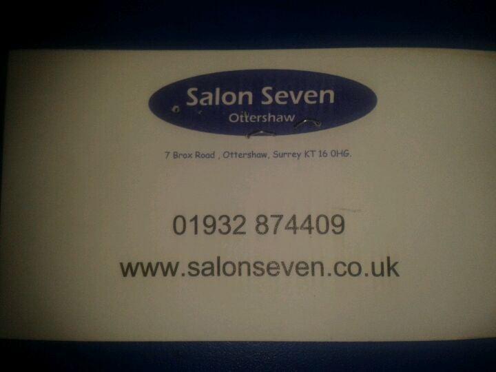 Salon Seven - Surrey