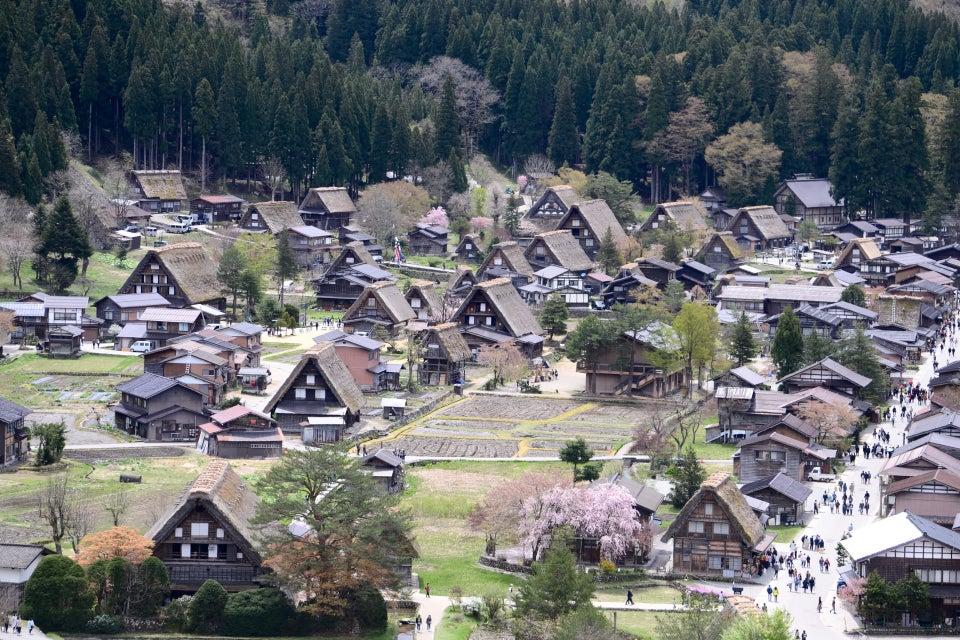 白川鄉與五箇山的合掌造村落