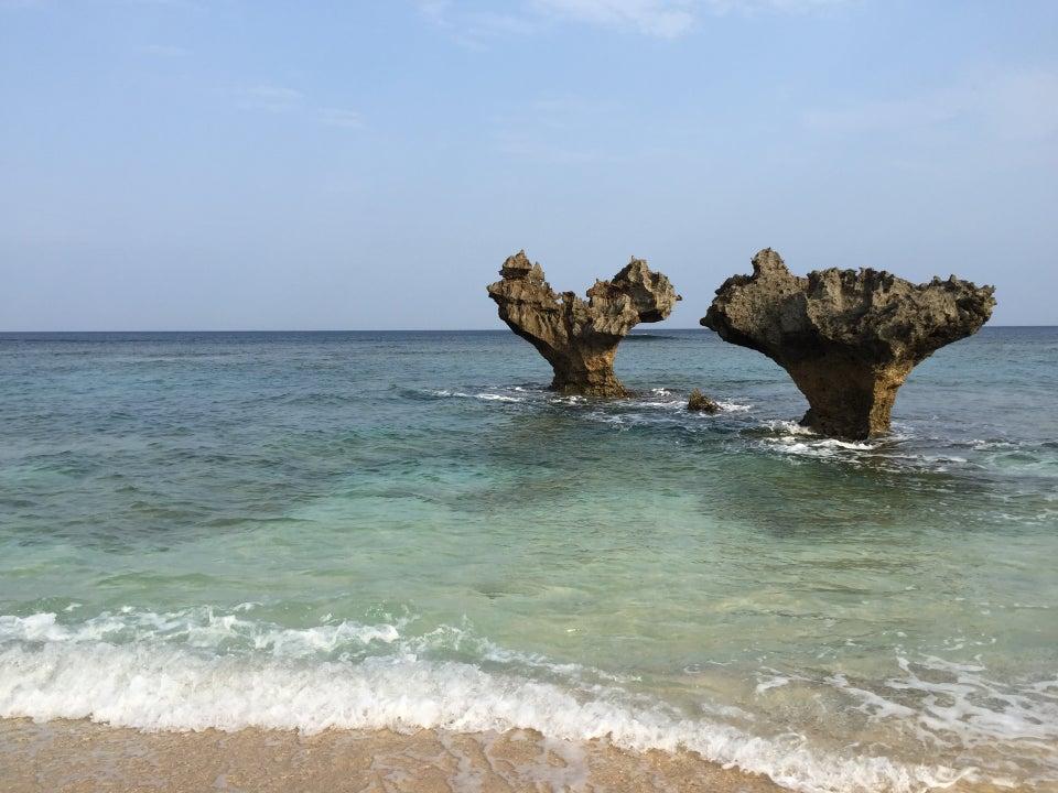 古宇利島 心型岩