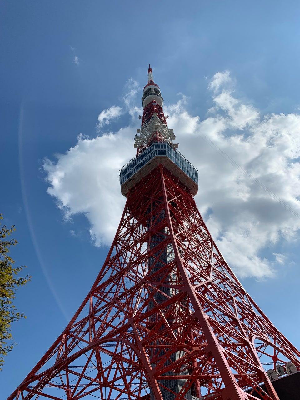 東京鐵塔正下方