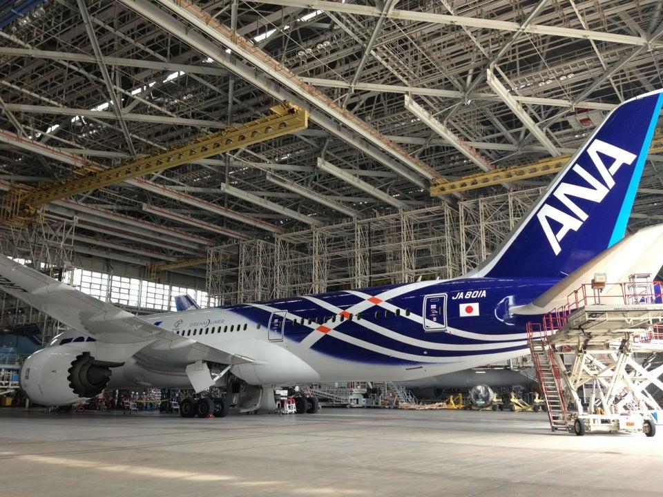 ANA全日空航空機體工廠/ANA機体工場見学