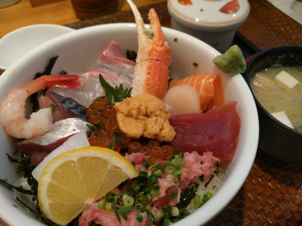 海鮮丼日出