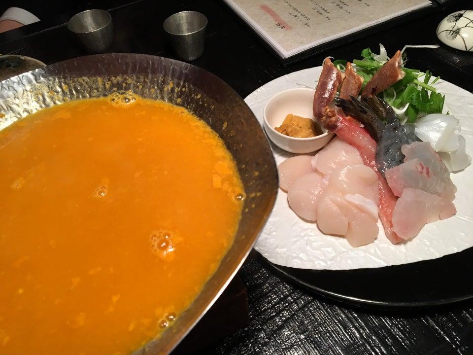 海鮮料理 雲丹涮涮鍋 工藤