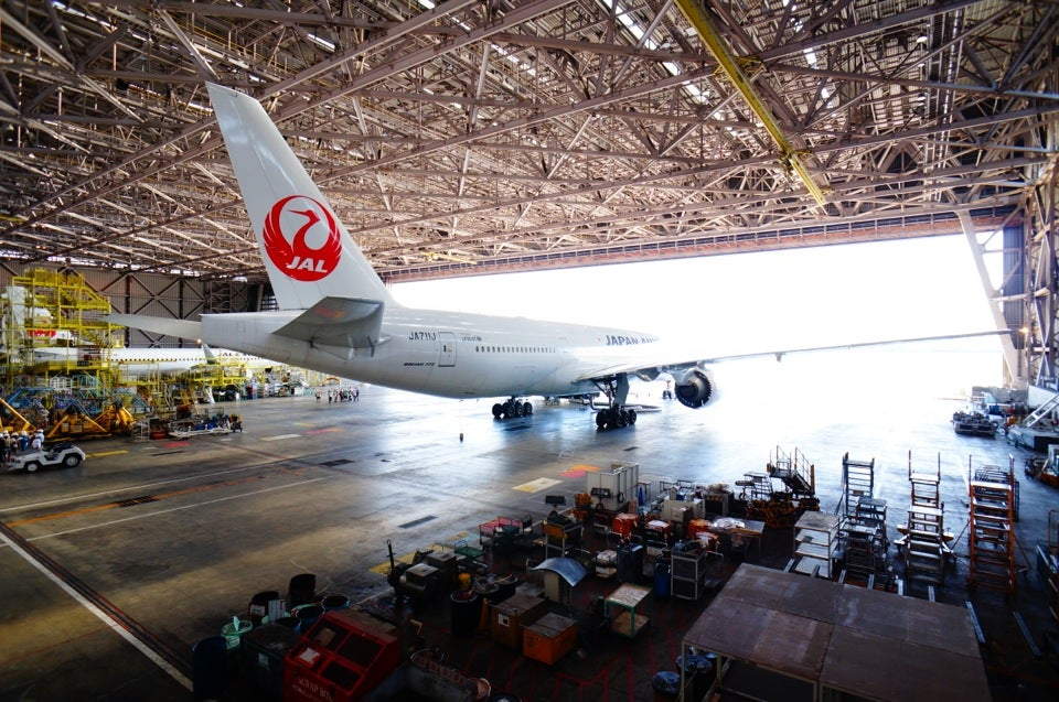 JAL日本航空SKY MUSEUM/JAL工場見学