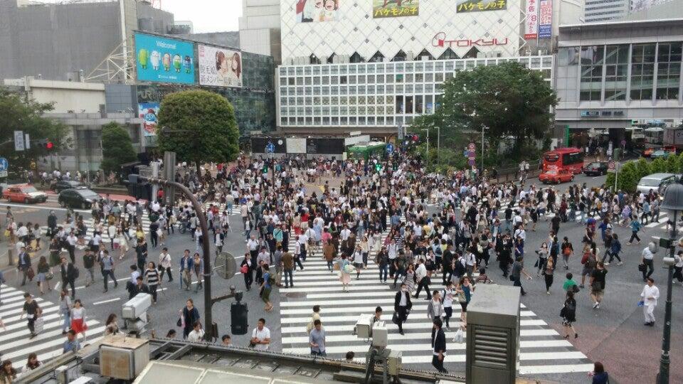 澀谷十字路口