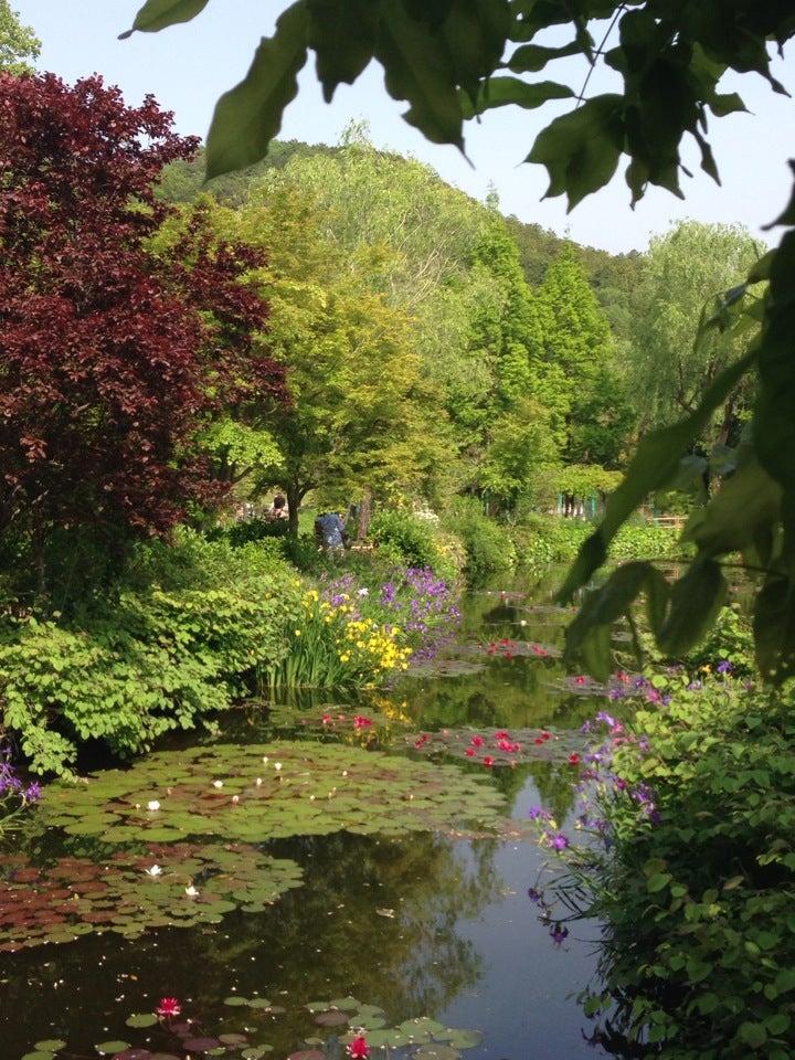 北川村 莫內庭園