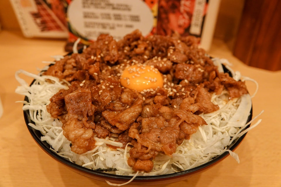 the肉丼の店