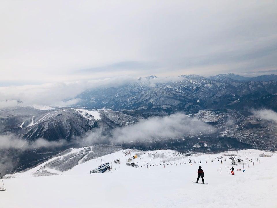 白馬八方尾根滑雪場