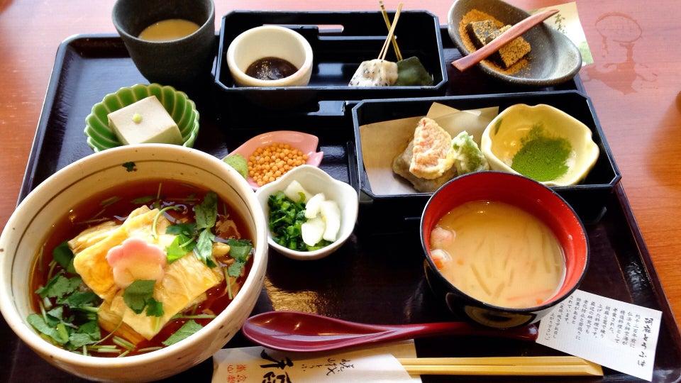 嵯峨豆腐稻