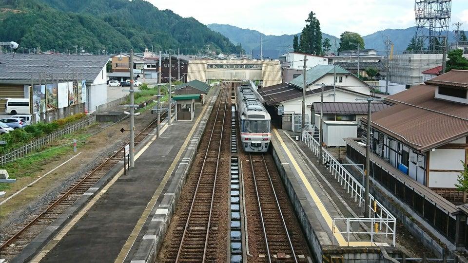 JR高山本線飛驒古川站