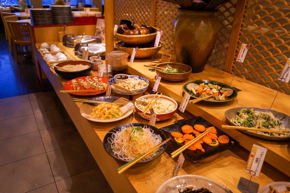 自然食バイキング 菜蒔季