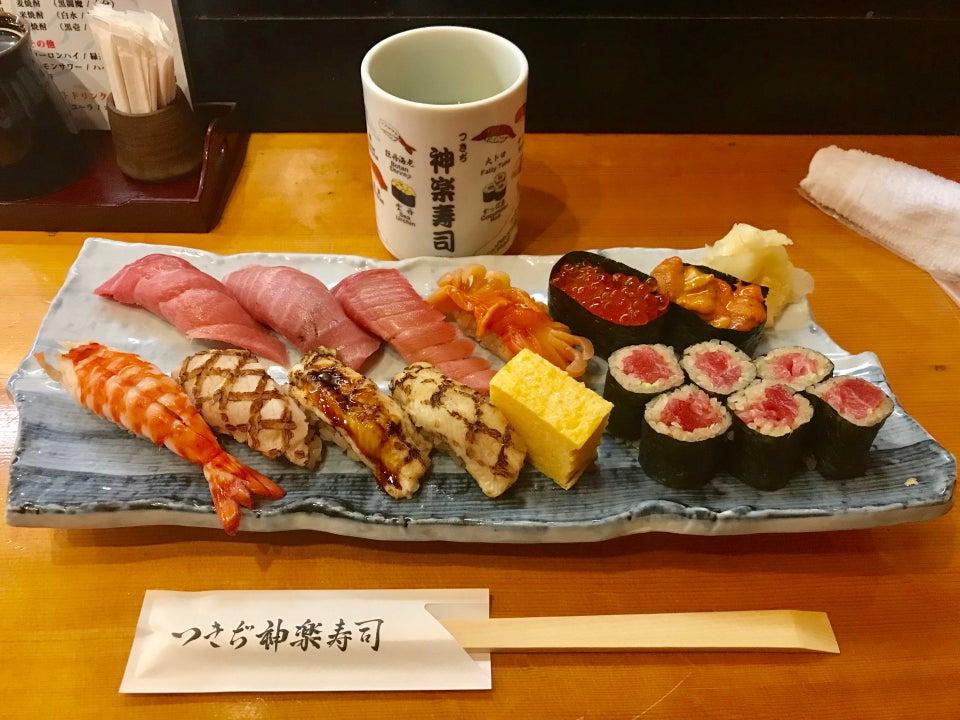 築地神樂壽司