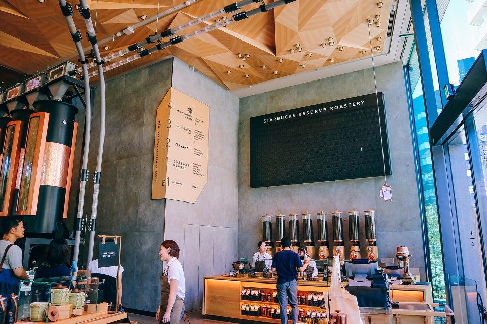 星巴克臻選®烘焙工坊(Starbucks Reserve Roastery)