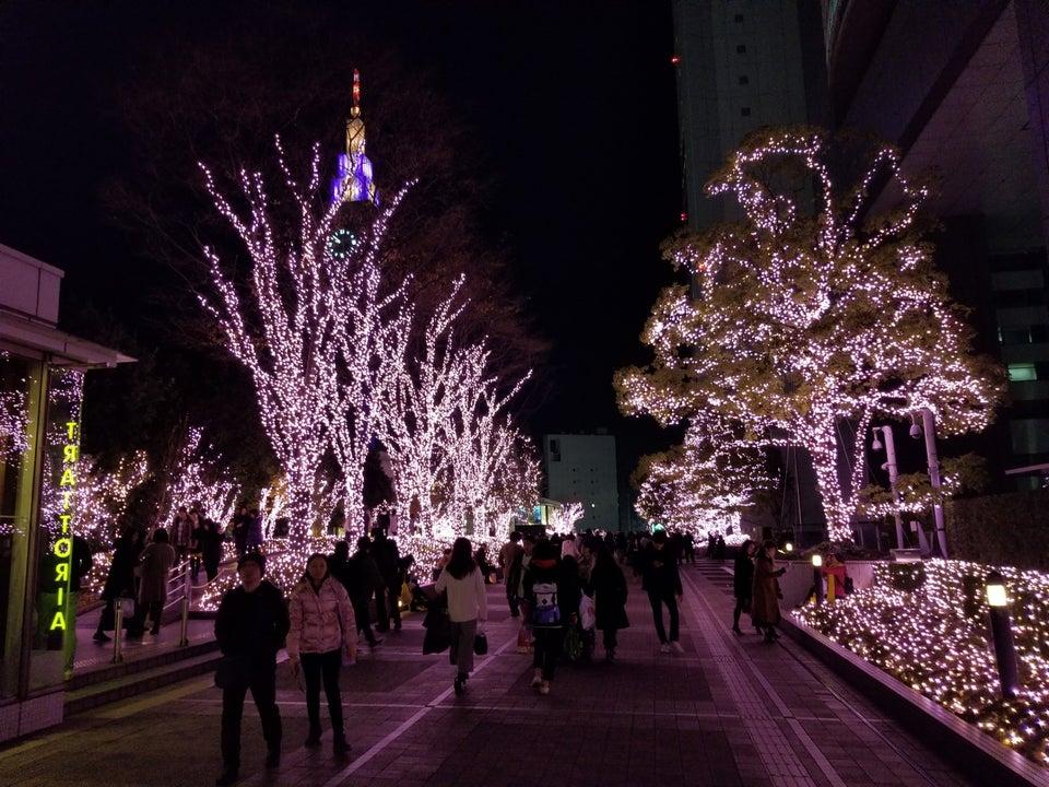 新宿Terrace City燈飾