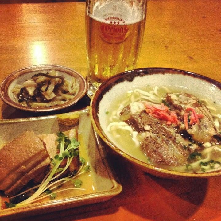 琉球家庭料理 葵屋(旭橋)