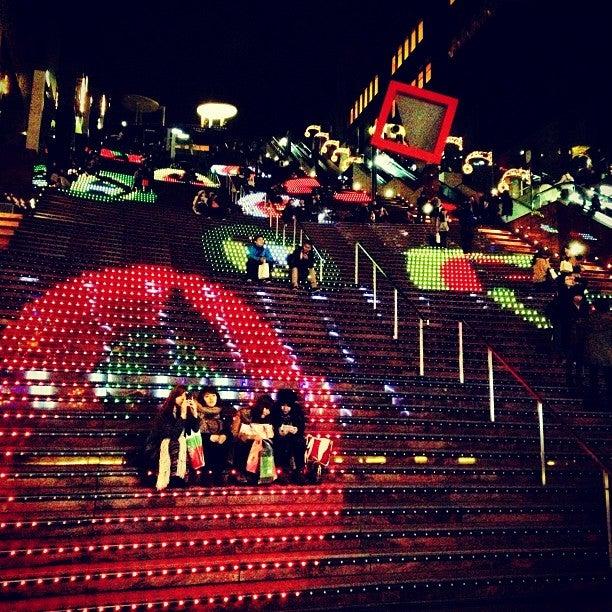 京都車站大樓聖誕燈飾