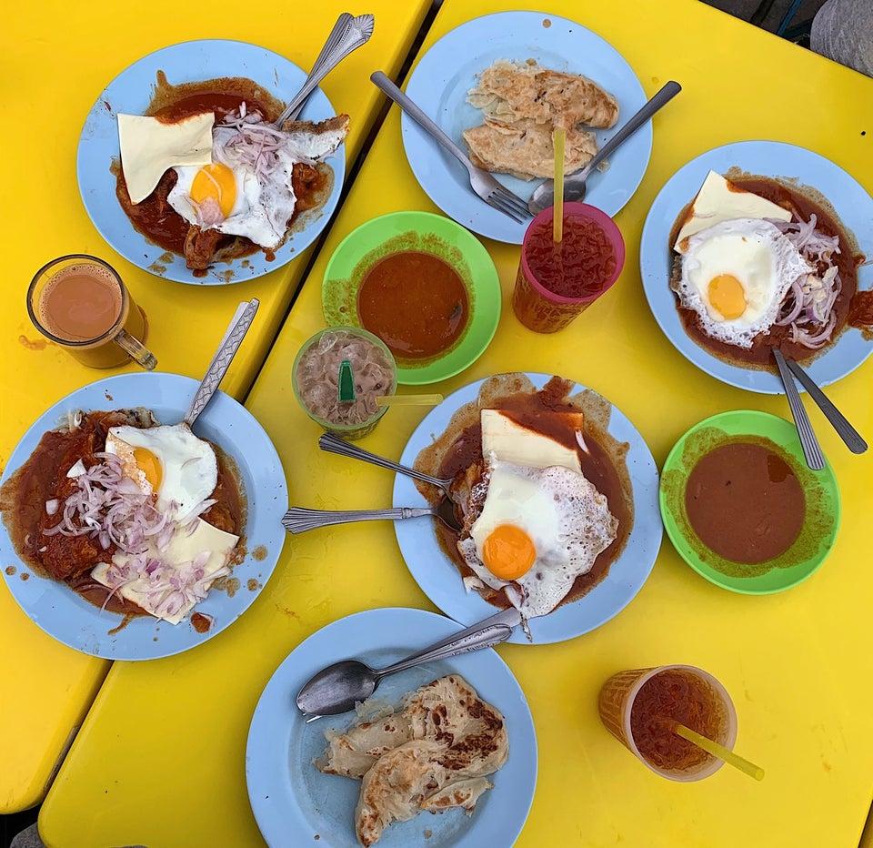 sarapan pagi di penang