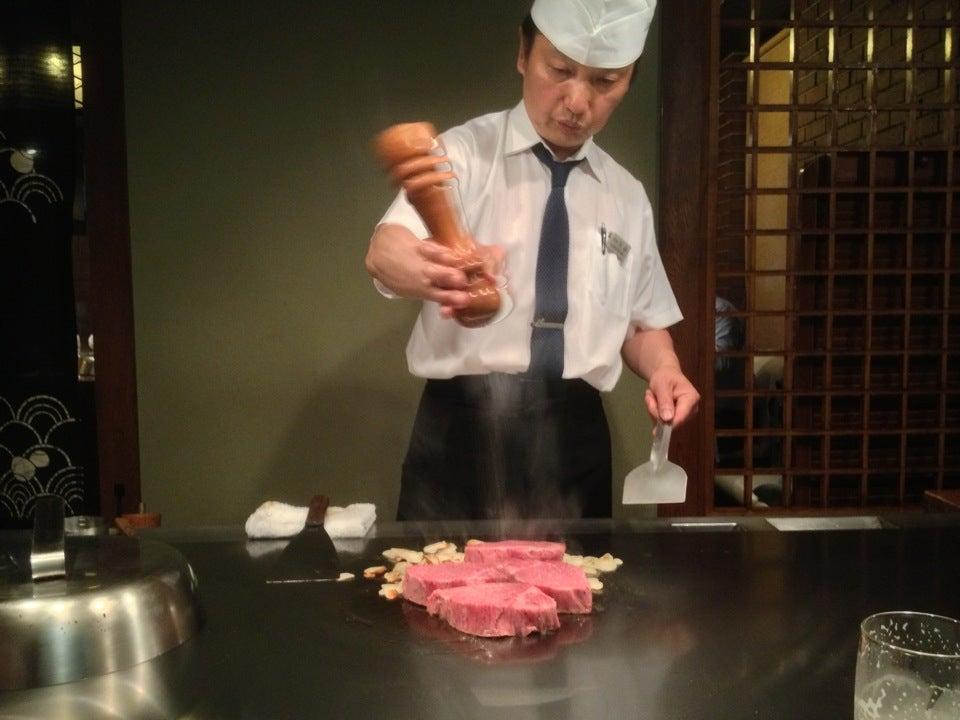 元祖 鐵板燒牛排 MISONO大阪店(北新地)