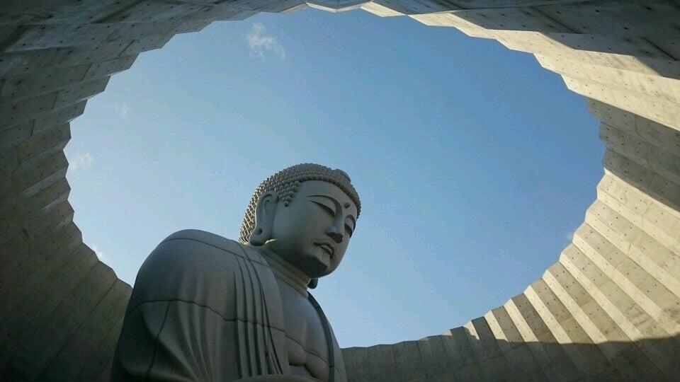 北海道 札幌|真駒內瀧野靈園 頭大佛殿