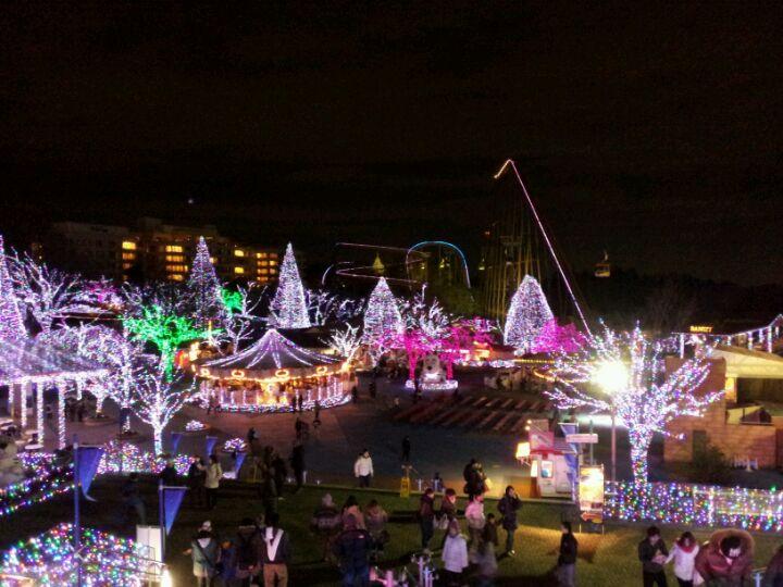 東京讀賣樂園 Jewel illumination