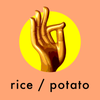 rice / potato