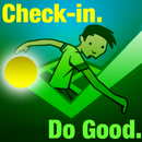 Check-in. Do Good.